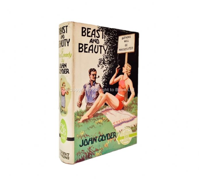 Beast and Beauty by John Glyder Second Printing Herbert Jenkins c.1935